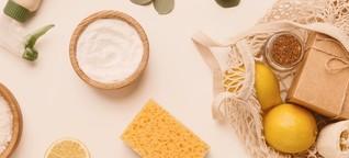 DIY Putzmittel: Saubere Sache, ganz ohne Chemie