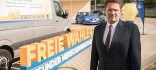 Freie Wähler in Brandenburg: Peter Vida will wieder in den Landtag - DER SPIEGEL - Politik