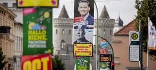 Grüne im Ostwahlkampf: Gegen Spucke und Spott - DER SPIEGEL - Politik