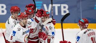 EV Landshut holt zwei Punkte gegen den EC Bad Nauheim