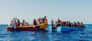 Seenotrettung im Jahr 2020: eine Chronologie