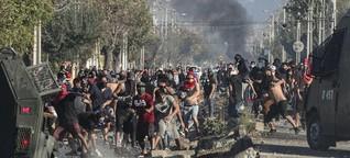 Proteste während der Pandemie in Chile: Hunger in der Hauptstadt