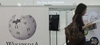 DLF: Wissen und Geschlecht - Wikipedia weiblicher machen