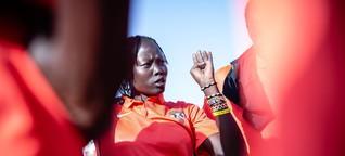 Südsudan: Wie Susana als erste Basketballtrainerin ihr Land verändern will