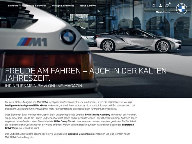 MeinBMW Online-Magazin