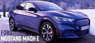 Ford Mustang Mach E: Vorn ein Rennpferd, innen Familienkutsche