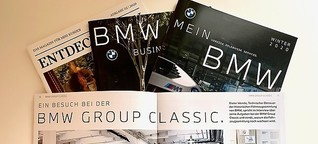 Kundenmagazine MeinBMW & BMW Business Class