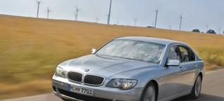 Vergaloppiert: Wasserstoff-Auto ohne Brennstoffzelle BMW Hydrogen 7