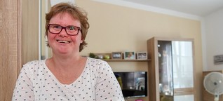 Eine Bielefelderin mit Down-Syndrom erzählt vom Einzug in ein neues Leben
