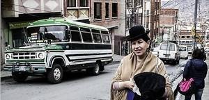 Erste Transgender-Cholita Boliviens