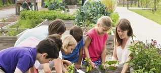 Gärtnern mit Kindern - so wird's spaßig und pädagogisch wertvoll