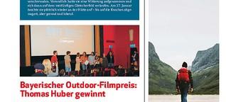 Bayerischer Outdoor-Filmpreis: Thomas Huber gewinnt