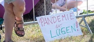 Karlsruher Querdenken-Initiatorin wehrt sich gegen Extremismus-Vorwürfe