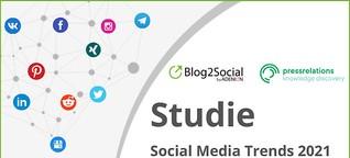 Studie: Social Media Trends 2021 - Zukunftsthemen, Tipps und Expertenprognosen