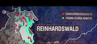 ZDF, Frontal21: Wald roden für Windräder