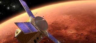 Raumsonde der Vereinigten Arabischen Emirate - Hope erreicht den Mars