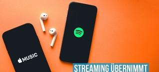 80% Marktanteil - Streaming übernimmt die Musik-Industrie! :: bonedo.de