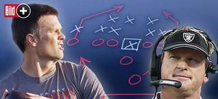 BILD erklärt die Taktik-Bibel der Football-Teams