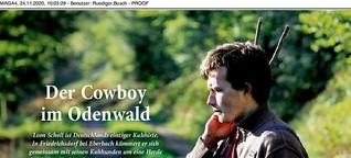 Der Cowboy im Odenwald