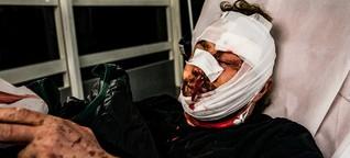 Polizei-Angriff auf Presse-Fotografen