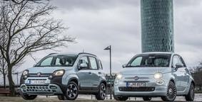 Fiat 500 gegen Panda Hybrid: Schön oder schön praktisch