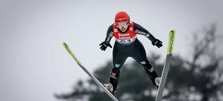 """""""Manche belächeln uns"""": Katharina Althaus kämpft für Gleichberechtigung beim Skispringen"""