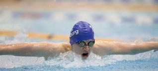 """Schwimmer Alex: """"Wettkämpfe sind unfassbar wichtig für uns """""""