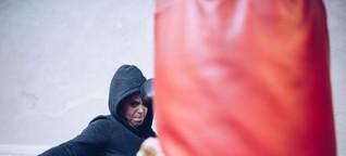 """Kickboxerin Rafal: """"Schön ist, dass gerade jeder bereit ist, anderen zu helfen"""""""