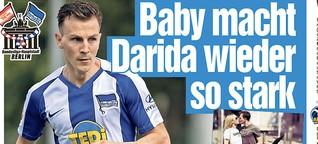 Hertha-Stammplatz erkämpft - Daridas emotionales Baby-Geständnis!