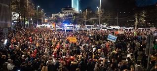Leipzig: Corona-Protest läuft aus dem Ruder