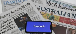 Kommentar zum Streit zwischen Australien und Facebook