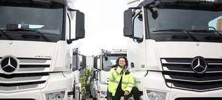 Lkw-Männer-Domäne: Frau im Fernverkehr