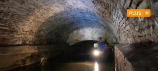 Augsburgs Kanäle: Im Zeitraffer durch den Untergrund