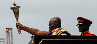 Viel Luft nach oben: Ghanas Präsident Nana Akufo-Addo ein Jahr nach der Wahl | DW | 06.12.2017