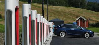 Ladesäulen für Elektroautos: Langsam hat auch Vorteile