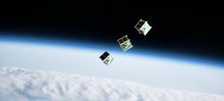 """Formationsflug von Satelliten: """"Geringe Abstände sind sehr riskant"""""""