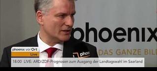 Interview: Peter Stefan Herbst zur Landtagswahl 2017 im Saarland