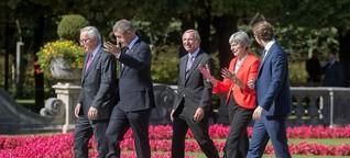 EU-Gipfel in Salzburg: Gut, dass wir miteinander geredet haben