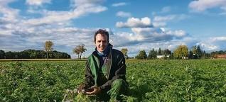 Wie Bauer Erz mehr regionales Bio-Gemüse auf Berliner Teller bringen will