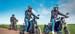Elektro-Zweirad soll Verkehrsrevolution werden