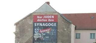 Schriller Protest gegen Potsdamer Synagogenbau