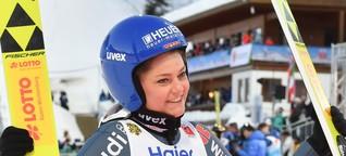 Skispringerin Carina Vogt vor Weltcup-Comeback