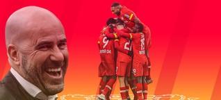 Bayer Leverkusens Trainer Peter Bosz - eine Frage des Stils