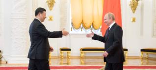 China und Russland - neue Front gegen den Westen?