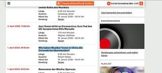 Deutschlandfunk: Wie haben Musiker*innen in China die Coronakrise überstanden?
