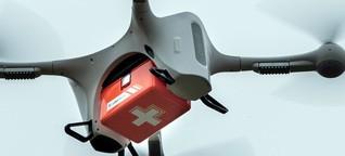 """Laborproben werden in Berlin per Drohne versandt: """"Ein schneller Transport kann über Leben oder Tod entscheiden"""""""