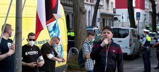 Neonazi nach Angriff auf Taxifahrer im Gefängnis - einige wenige Anhänger demonstrieren vor JVA für Freilassung - Nordstadtblogger