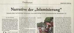 """Narrative der """"Islamisierung"""" (2): Eine mehrteilige Kritik orientalistischer Denkfehler (2)"""