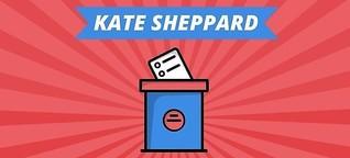 Kate Sheppard: Dank ihr durften Frauen erstmals wählen gehen | MDR.DE