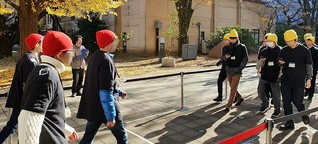 Forscher zeigen, wie Smartphones den Fußverkehr bremsen